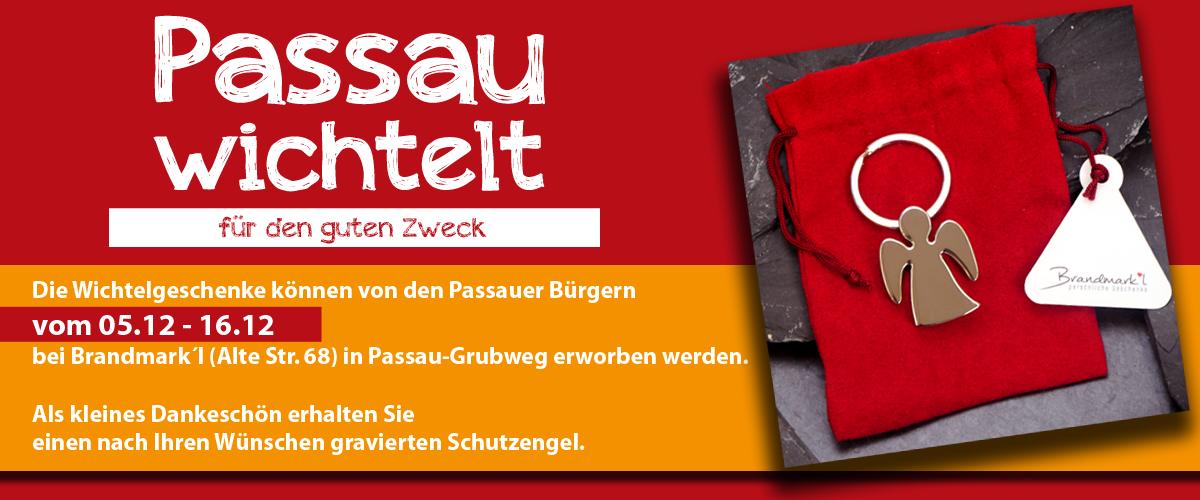 Banner Passau wichtelt Spende